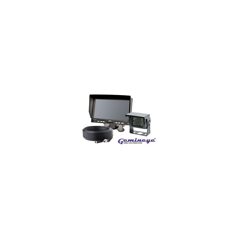 ecco k7000b gemineye r ckfahrkamera set mit monitor und. Black Bedroom Furniture Sets. Home Design Ideas